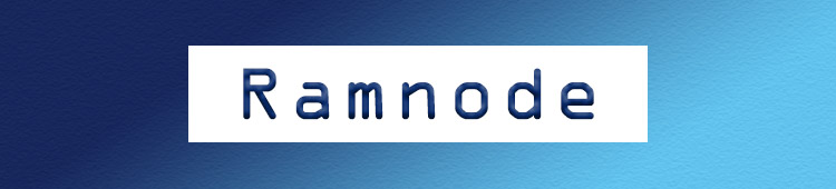 Ramnode section banner